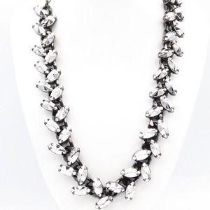 Zara Jewelry Gunmetal Tone Industrial Necklace